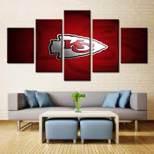 home decor stores kansas city kansas city chiefs painting on canvas wall art home decor picture