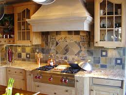 rustic kitchen backsplash tile home decoration ideas