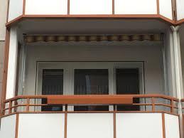 balkon markise ohne bohren wetterschutz für den balkon zum werkspreisallwetterschutz