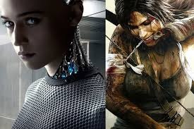 new machina the new tomb raider will be ex machina breakout alicia vikander