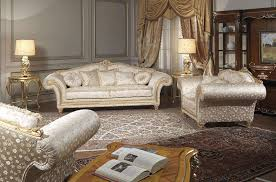 classic living room imperial in floral fabric vimercati classic