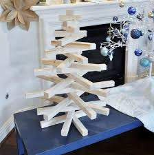 wooden christmas tree diy modern wooden christmas tree the design confidential