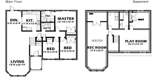 split entry floor plans split entry b riggs realty team