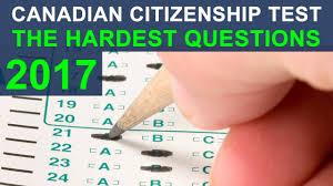 canadian citizenship test 2017 the hardest questions youtube