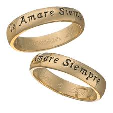 d20 spinner ring gold sterling te amare siempre engraved sentiment ring in