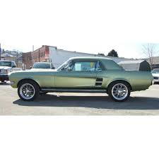 67 Mustang Black Mustang Side Stripe Decal Kit Gt 1967