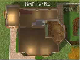 sims 3 small house floor plans