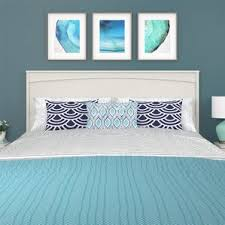 headboard nightstand combo wayfair