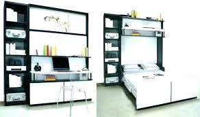 lit escamotable bureau intégré lit integre dans armoire medium size of bureau integre armoire lit