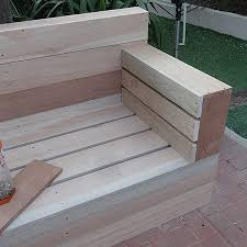 Build Wooden Patio Furniture by Make Your Own Wood Patio Furniture 5 Steps With Pictures