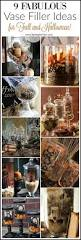 Fall Vase Ideas 9 Apothecary Jar Fillers Fall U0026 Halloween Ideas Setting For Four