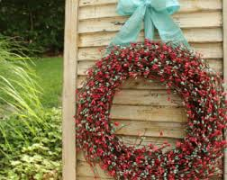 summer wreath summer wreaths etsy