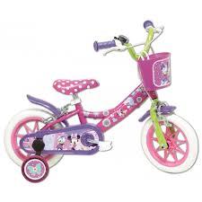 si e bebe velo vélo 12 licence minnie pour enfant de 3 à 5 ans avec stabilisateurs
