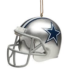 dallas cowboys 3 in helmet ornament nflshop