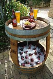 Wine Barrel Patio Table 20 Best Wine Barrel Furniture Images On Pinterest Barrels Wine