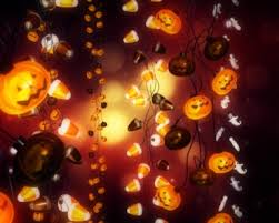 attract trick or treators with halloween lights