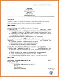 Resume Sle Objectives Sop Proposal - what resumes look like hvac cover letter sle hvac cover