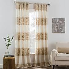 Tropical Curtain Panels Kas Room Carina Rod Pocket Window Curtain Panel Rod Pocket