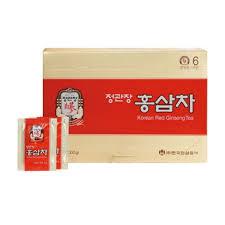 Minuman Ginseng Korea cheong kwan jang 6 year korean ginseng tea hong sam cha 3 g x