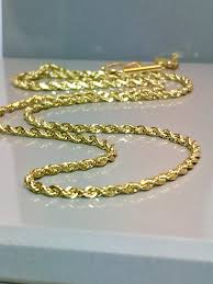 golden rope necklace images 10k solid gold rope baby necklace gold rope necklace gold jpg