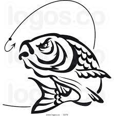 fishing clipart black and white panda free images clip art