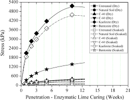 accelerated subgrade stabilization using enzymatic lime technique