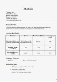 resume format doc for fresher accountant accounting cv sle sle template exle ofexcellent