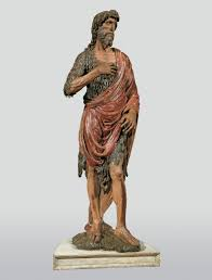 uffizi exhibition review painted wooden sculptures