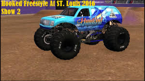 bigfoot monster truck st louis beamng monster jam hooked freestyle at st louis 2016 show 2