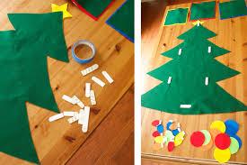 no sew felt christmas tree tutorial