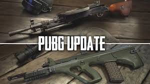 pubg new weapons new pubg 1 0 info new guns more dp 28 and aug youtube