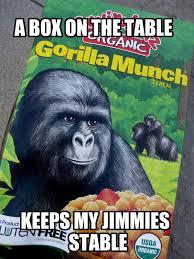 Gorilla Munch Meme - gorilla munch