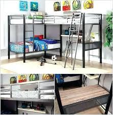 l shaped bunk beds with desk l shape loft bed an l shaped triple bunk bed with a work desk l l