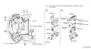 nissan murano alternator connector 2006 nissan murano oem parts nissan usa estore