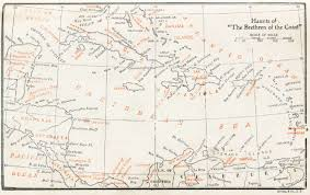 Real Treasure Maps Index And Contents Of Buccaneers And Pirates Of Our Coasts By
