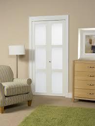 Erias Home Designs Baldarassario Panel MDF BiFold Interior Door - Erias home designs