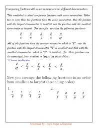 50 best rational numbers images on pinterest math fractions