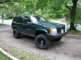 raised jeep grand cherokee 96dczj 1996 jeep grand cherokee specs photos modification info