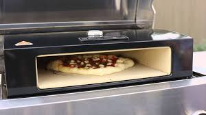 Stovetop Pizza Oven Bakerstone Pizza Oven Box For Bbq U0027s Youtube
