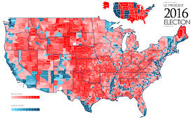 Political Map Us Donald Trump See A Map That Shows How He Won Time Donald Trump Vs