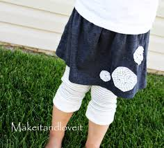 Upcycle Leggings - do you have an old shirt or two how about turning them into a