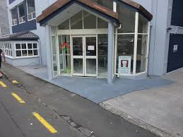 concrete resurfacing for apartments entrance