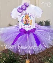 disney princess rapunzel tangled birthday tutu