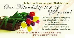 birthday wishes for a special friend my