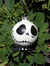 nightmare before christmas hand painted ornaments diy wishing i