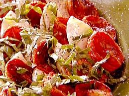 ina garten tomato roasted tomato caprese salad recipe caprese salad recipe tomato
