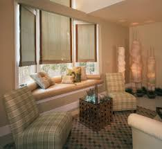 bay window seat family room contemporary with bay window built in