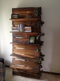 Wood Shelf Design Plans by Diy Bookshelf Ideas With Pallet Wood Pallet Furniture Plans