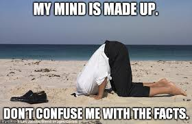 Sand Meme - head in trhe sand with stupidity meme generator imgflip
