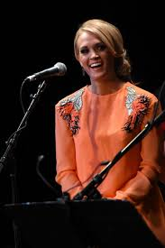 carrie underwood at country music hall of fame u0026 museum all for